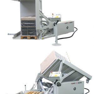 TOPPY INVERTER S Hareket Edebilir Palet Taşıma ve Çevirme Makinası