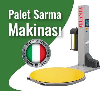 palet sarma makinası